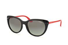 Vogue Eyewear VO 2941S 2392/11, Butterfly Sonnenbrillen, Schwarz