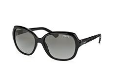 Vogue Eyewear VO 2871S W44/11, Butterfly Sonnenbrillen, Schwarz