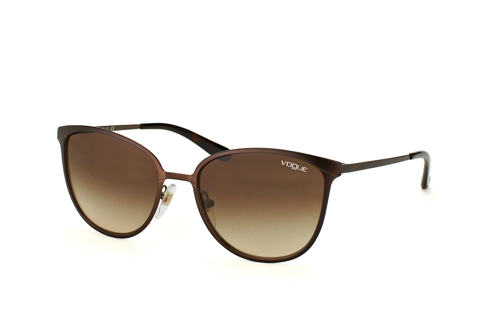 VOGUE Vogue Damen Sonnenbrille » VO4060S«, goldfarben, 50655A - gold/gold