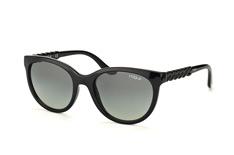 Vogue Eyewear VO 2915S W44/11, Round Sonnenbrillen, Schwarz