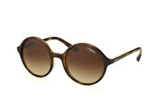 Vogue Eyewear VO 5036S W656/13, Round Sonnenbrillen, Dunkelbraun