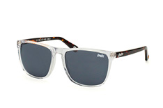 Superdry sds Ichi 113, Square Sonnenbrillen, Transparent