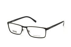 Boss Boss 0767 Qil, Rectangle Brillen, Schwarz