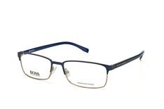 Boss Boss 0766 Qjf, Rectangle Brillen, Blau