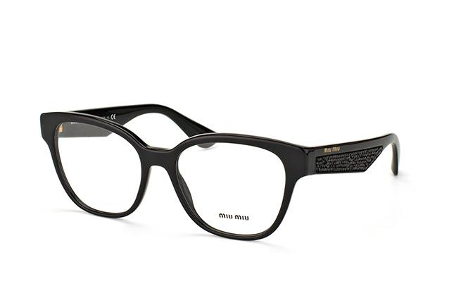 5c472668bc55 ... Glasses  Miu Miu MU 06OV 1AB-1O1. null perspective view ...
