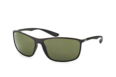 Ray-Ban RB 4231 601-S/9A, Rectangle Sonnenbrillen, Schwarz