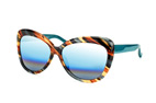 Matthew Williamson MW 129 9 Marron / Bleu vue en perpective Thumbnail