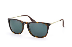 Mister Spex Collection Johnny 2035 002, Square Sonnenbrillen, Havana