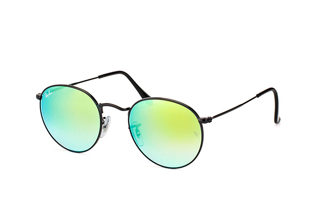 Ray-Ban Round Metal RB 3447 002/4J perspective view