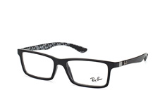 ray-ban-rx-8901-5610-rectangle-brillen-schwarz