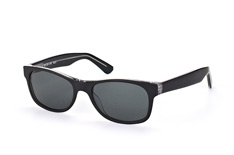 Mister Spex Collection Harrison 2014 004 small, Square Sonnenbrillen, Schwarz