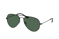 Mister Spex Collection Tom small 2004 004, Aviator Sonnenbrillen, Schwarz