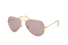 Mister Spex Collection Tom 2004 009 large, Aviator Sonnenbrillen, Goldfarben
