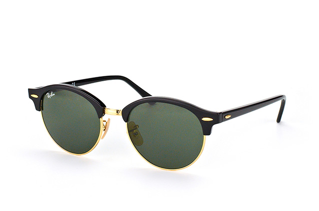 8b1406d86cd ... Gafas de sol  Ray-Ban Clubround RB 4246 901. null vista en perspectiva  ...