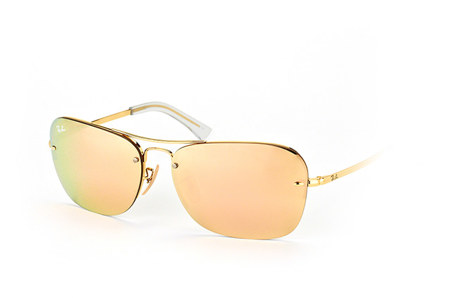 52ecd58f2f ... Sunglasses  Ray-Ban RB 3541 001 2Y. null perspective view ...