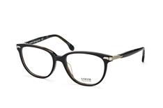 Lozza VL 4107 0Apa, Butterfly Brillen, Schwarz