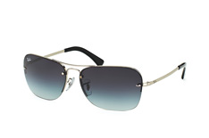 Ray-Ban RB 3541 003/8G, Aviator Sonnenbrillen, Silber