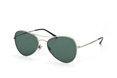 Giorgio Armani AR 6035 3003/71, Aviator Sonnenbrillen, Silber