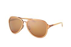Oakley Kickback OO 4102 12, Aviator Sonnenbrillen, Beige