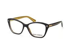 Dolce&Gabbana DG 3249 2955, Butterfly Brillen, Schwarz