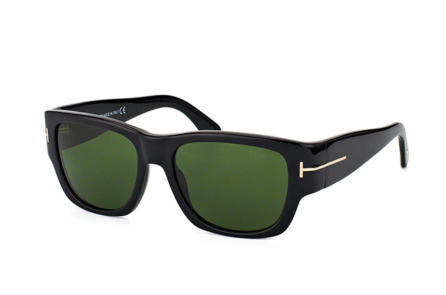Tom Ford Stephen FT 0493/S 01N vue en perpective