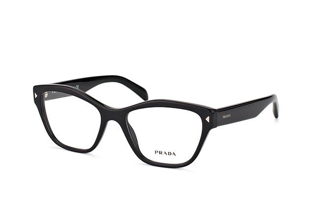 PRADA Prada Damen Brille » PR 27SV«, schwarz, 1AB1O1 - schwarz