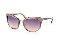 Tom Ford Emma FT 0461/s 59B, Butterfly Sonnenbrillen, Beige