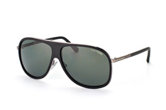 Tom Ford Chris FT 0462/s 02N, Aviator Sonnenbrillen, Schwarz