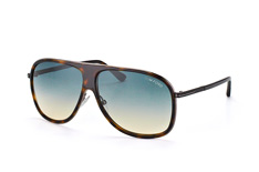 Tom Ford Chris FT 0462/s 56P, Aviator Sonnenbrillen, Havana