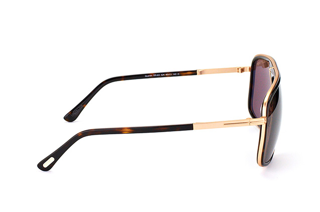 Tom Ford Quentin FT 0463/S 52K vue en perpective