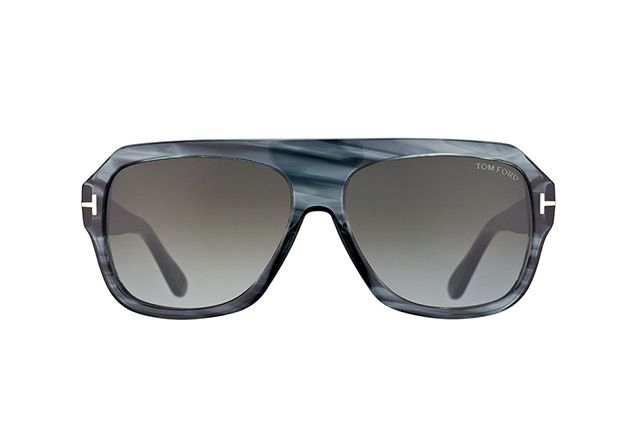 Tom Ford Omar FT 0465/S 20B vue en perpective
