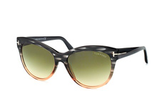 Tom Ford Lily FT 0430/s 20P, Butterfly Sonnenbrillen, Grau