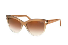Tom Ford Lily FT 0430/s 59G, Butterfly Sonnenbrillen, Beige