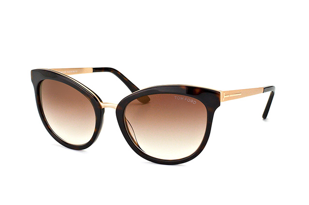 5fe31f6fc5044 ... Tom Ford Emma FT 0461 S 52G. null perspective view ...