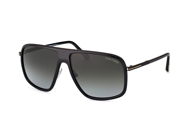 Tom Ford Quentin FT 0463/S 01B Perspektivenansicht