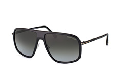 Tom Ford Quentin FT 0463/s 01B, Aviator Sonnenbrillen, Schwarz