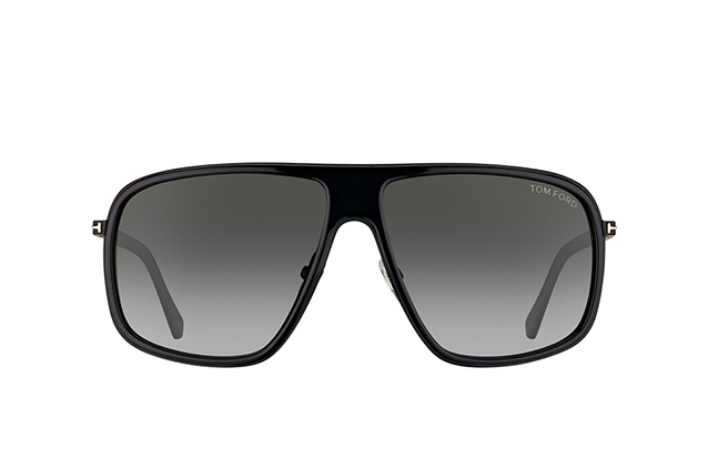 Tom Ford Quentin FT 0463/S 01B vue en perpective