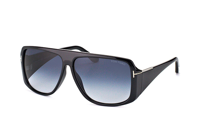 Tom Ford Harley FT 0433/S 01W vista en perspectiva