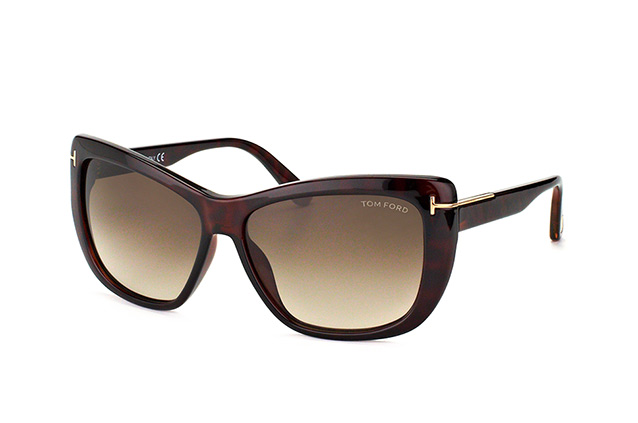 Tom Ford Lindsay FT 0434/S 52K vue en perpective