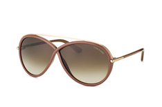 Tom Ford Tamara FT 0454/s 59K, Butterfly Sonnenbrillen, Braun