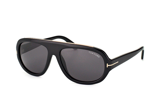 Tom Ford Hugo FT 0444/S 01A perspective view