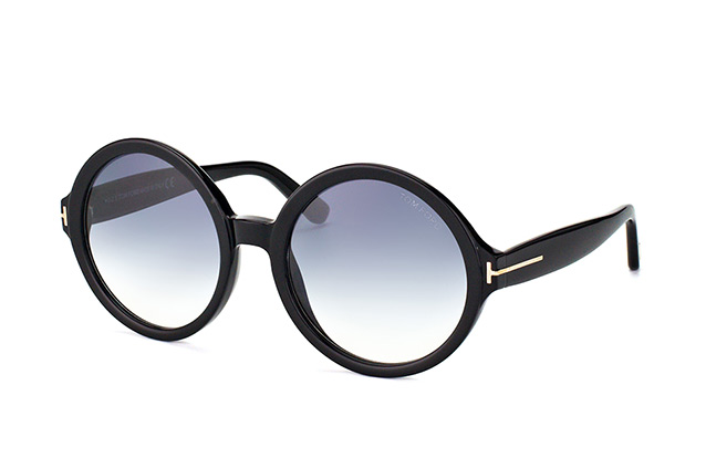 Tom Ford Juliet FT 0369/S 01B vista en perspectiva