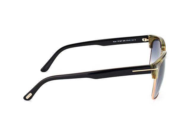 Tom Ford River FT 0367/S 60B vista en perspectiva