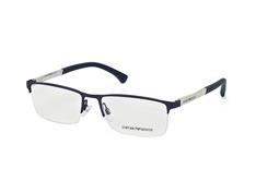 Emporio Armani EA 1041 3131, Rectangle Brillen, Dunkelblau auf Rechnung bestellen