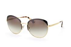 Prada PR 54Ss Qe3-0A7, Browline Sonnenbrillen, Schwarz