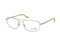 Titanflex 820693 30, Aviator Brillen, Silber