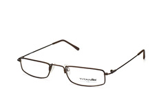Titanflex 820661 60, Narrow Brillen, Dunkelbraun