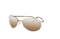 Silhouette 8680 60-6221, Aviator Sonnenbrillen, Grau