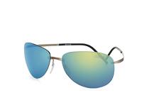 Silhouette 8680 60-6240, Aviator Sonnenbrillen, Grau