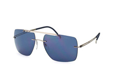 Silhouette 8674 60-6231, Aviator Sonnenbrillen, Silber